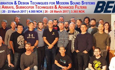 Level Line Arrays and Subwoofer Techniques med Merlijn van Veen in Oslo