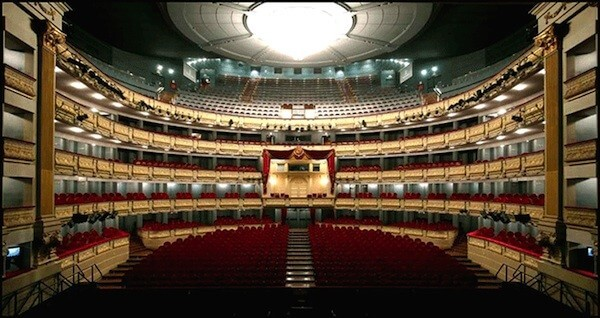 "SOUND OF ""MADAME BUTTERFLY"" AT THE ROYAL THEATER, 'TEATRO REAL' OF MADRID"