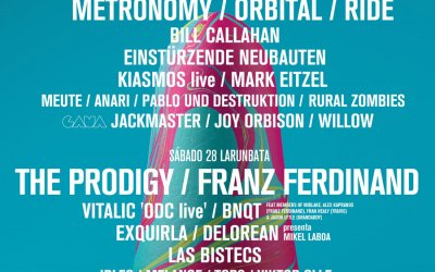 BIME MUSIC FESTIVAL 2017 BASQUE COUNTRY