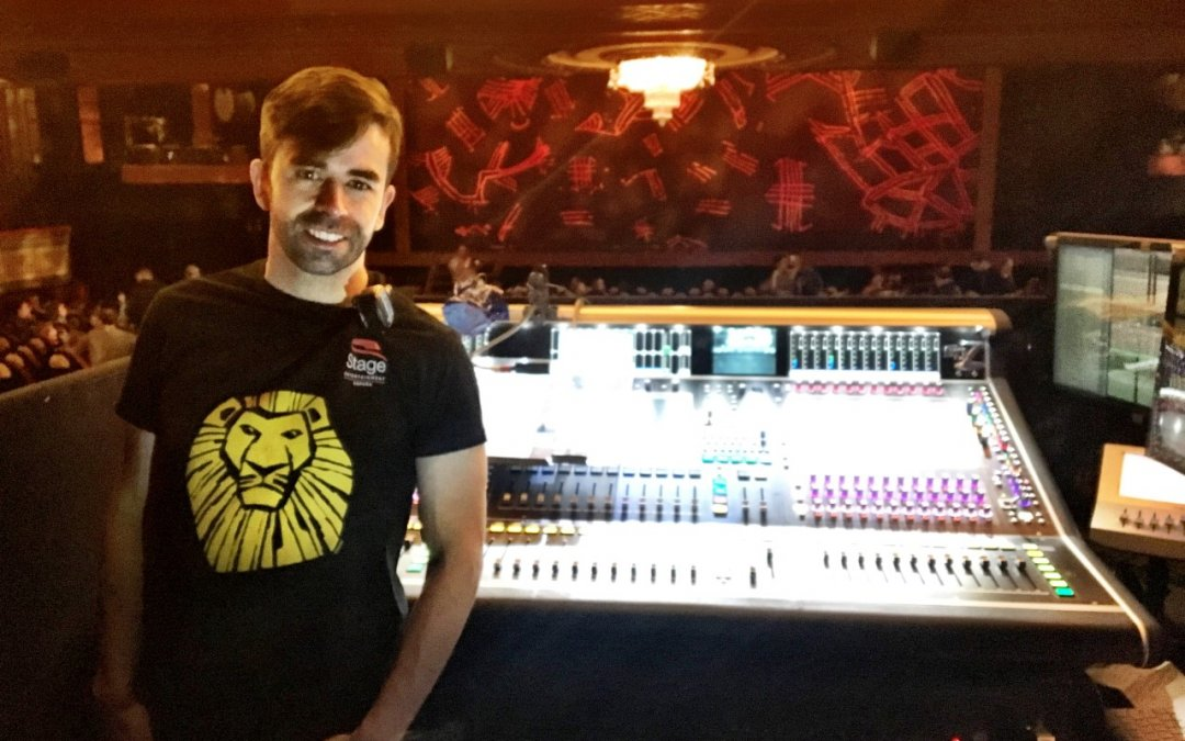 Mixing at The Lion king musical